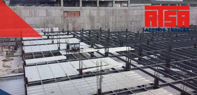 Losas de concreto con Losacero